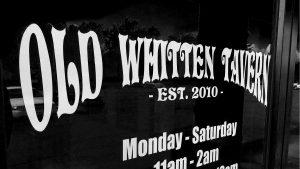 Old Whitten Tavern Front Door